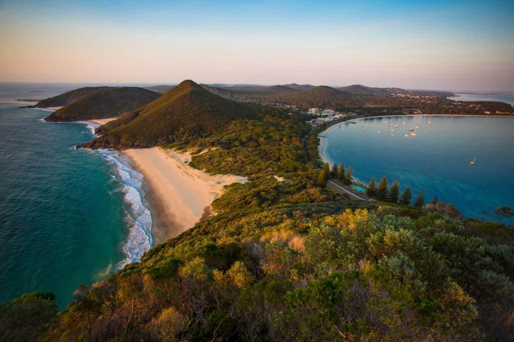 Zenith Beach and Shoal Bay.